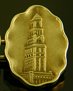 Chicago Tribune 1922 Tower Contest cufflinks. (J9169)