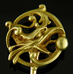 French chimera stickpin. (J9247)