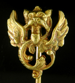 French chimera stickpin. (J9214)