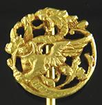 French Art Nouveau dragon stickpin. (J9485)