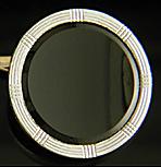 Larter onyx cufflinks. (J9385)