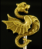 Link & Angell regal dragon stickpin (J9235)