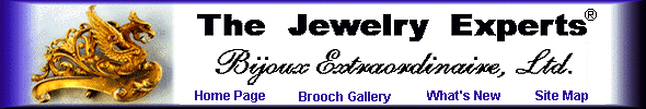 The Antique Cufflink Gallery, your Art Nouveau brooch experts. (J9051)